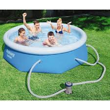 bestway pool fast set 8ft x 26in the warehouse