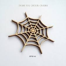 accurate laser cut spider web for halloween decor spider web