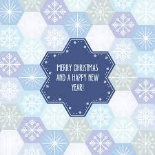 christmas background with snowflakes splicing vector free vector