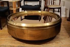 coffee tables ideas wonderful round brass tray coffee table