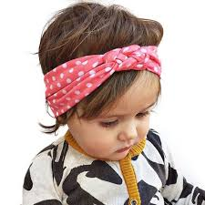 knotted headband 5pcs cotton baby girl hair bands wrap knotted