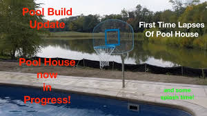 Build Pool House by Pool House Build Time Lapse With Description Of The Build And Play