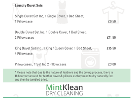 Dry Clean Feather Duvet Mintklean Dry Cleaning Google