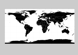 Blank World Map With Equator And Tropics by 144 Free Vector World Maps
