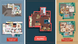 Floor Plans Of Tv Show Houses Gallery Of From Buffy To Breaking Bad Sherlock To Stranger Things