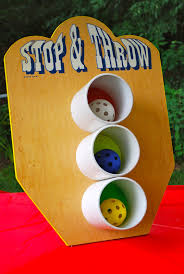 toss game for back yard kid party via threadesque vintage
