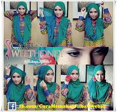tutorial hijab paris zaskia tutorial jilbab pashmina simple ala zaskia adya mecca cara memakai