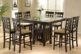 Round Kitchen Table Set Crate And Barrel Table Round Expandable - Black kitchen table and chairs