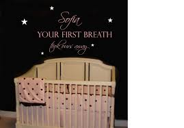 Wall Decals For Girl Nursery by Baby Room Quotes For The Walls Affordable Ambience Decor