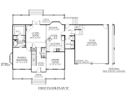 Size Of 2 Car Garage by Houseplans Biz House Plan 2544 B The Hildreth B W Garage