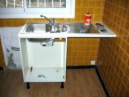 pose meuble cuisine evier cuisine e poser sur meuble meuble cuisine acier meuble acvier