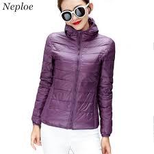 plus size light jacket neploe double sided wear feather jacket female light thin short