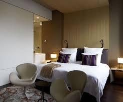 Minimalist Modern Design Contemporary Hotel Whit Minimalist Design Das Stue Hotel Room