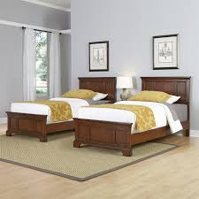 Bedroom Designs For Two Twin Beds Home Styles 5529 4024 Chesapeake Two Twin Beds And Night Stand In
