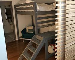Loft Bed Gold Coast Loft Bed Etsy