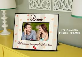 Personalized Wedding Photo Frame Top 10 Evergreen Unique Personalized Wedding Gifts Photohaat Com
