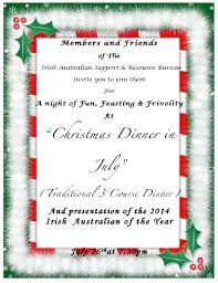 christmas in july at the celtic club tinteán