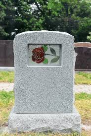 pictures of tombstones stained glass tombstones interment net