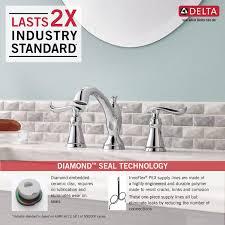 Delta Linden Bathroom Faucet by Delta Widespread Bathroom Faucet Offer Ends Delta Windemere