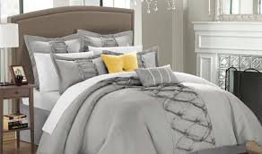 Bedroom Ideas With Grey Bedding Bedding Set Gray And White Bedroom Ideas Amazing White Grey