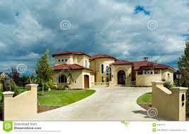 Floridian House Plans Tuscany Or Floridian Home Stock Photography Image 5067712