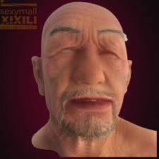 old man mask for halloween popular silicone the old man face buy cheap silicone the old man