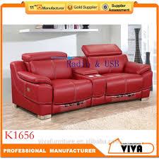 luxury power usb recliner and adjustable head rest sofa loveseat 2