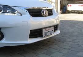 lexus rx330 license plate bulb replacement how to mount front license plate without