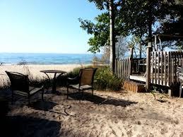 ontario beach rental cottage georgian bay cawaja beach weehouse