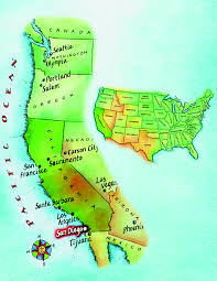 Arizona Spring Training Map by San Diego Life Images Of San Diego Learn English American