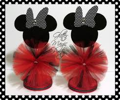 minnie mouse center pieces minnie mouse centerpiece minnie mouse glittermagicparty