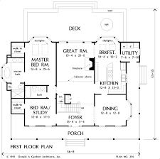 Donald Gardner Floor Plans House Plan The Woodland By Donald A Gardner Architects