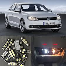 volkswagen jetta white interior aliexpress com buy 13pcs bright auto interior led light bulbs