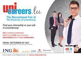 unicareers lu the unique recruitment fair of the of 20170824 uni careers lu 2017 600 jpg