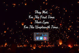 Time travel poem they met for the first time their eyes the