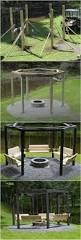 Patio Gazebo Ideas by Best 25 Fire Pit Gazebo Ideas Only On Pinterest Outdoor Swings
