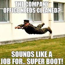 Funny Marine Memes - military humor super boot militaryavenue com military humor