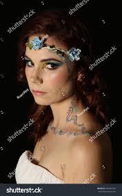 Beauty Garde Beautiful Portrait Lovely Redhead Model Long Stock Photo 442087447