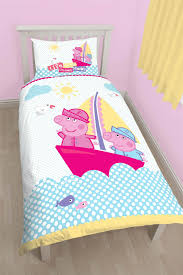 peppa pig nautical duvet cover bed sets curtains u0026 matching