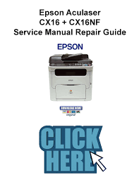 epson aculaser cx16 cx16nf service manual and repair guide
