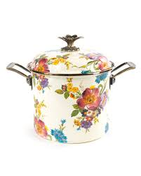 mackenzie childs l mackenzie childs flower market 3 quart casserole and matching items