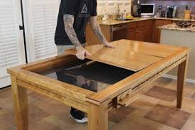 Gaming Coffee Table Gaming Dining Table The Wood Whisperer Guild