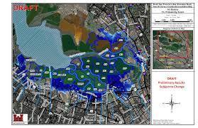 San Francisco Elevation Map South Bay Shoreline Visuals