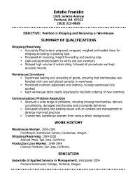free student resume templates warehouse auditor resume warehouse resumes best resumes images on