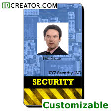 card security card template