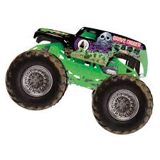 wheels monster jam grave digger truck camion juguete monstruo wheels monster jam grave digger die cast