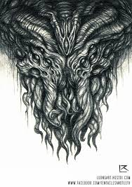 cthulhu pencil drawing by tentaclesandteeth on deviantart