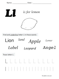 printable letter tracing worksheets free printable letter l preschool worksheet preschool letter l