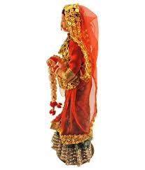 handmade rajasthani art work doll showpiece home decor buy