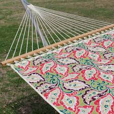 large 2 person quilted hammock made in the usa paisley sari